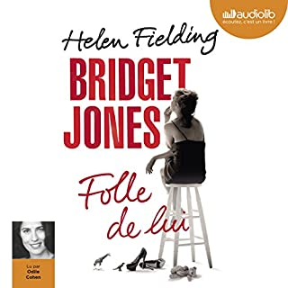 Page de couverture de Bridget Jones. Folle de lui