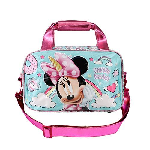 Karactermania Minnie Mouse Unicornio - Bolsa de Deporte, Multicolor