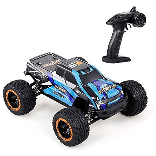 LJW 2.4G Wireless Off-Road Control Remoto de alta velocidad Drift RC Vehículo Bigfoot Monster RC Truck All Terrain 45 ° Escalada Vehículo Regalos para niños y adultos, baterías recargables   Código de