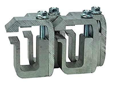 GCi STRONGER BY DESIGN G-1 Clamp for Truck Cap / Camper Shell (set of 4). Made with Structural Aluminum to Ensure Quality and Strength.