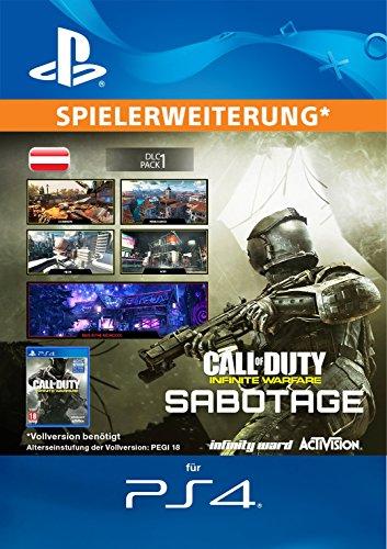 Call of Duty: Infinite Warfare Sabotage Edition DLC [PS4 Download Code - österreichisches Konto]