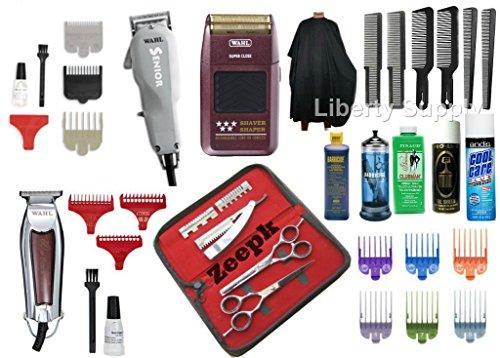 Liberty Supply Barber School Kit ESTANDAR DE Milady Professional BARBERO Cosmetology School Kit/Beauty School Kit Professional Hairdresser Kit Professional Hairstylist Kit All in One Barber Kit