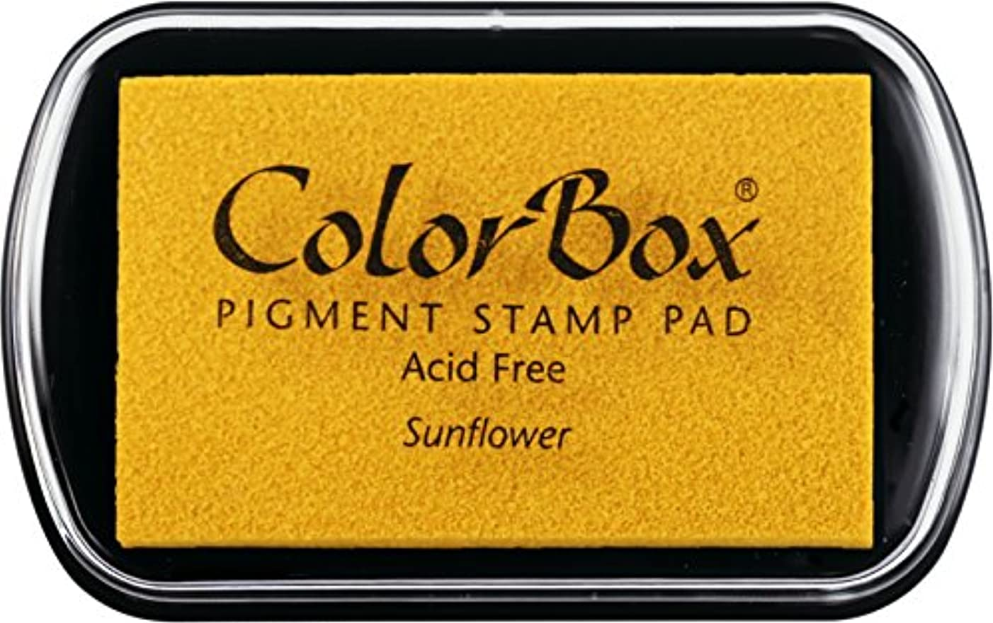 ColorBox Classic Pigment Ink Pad, Full Size, Sunflower