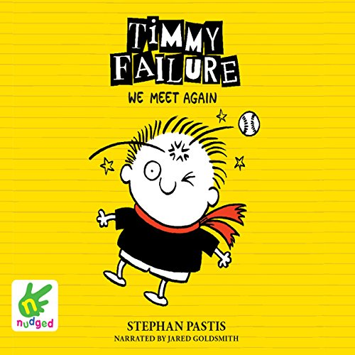 Timmy Failure: We Meet Again audiobook cover art