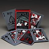 Bicycle Tragic Royalty Playing Cards Glow in The Dark Back Light Deck