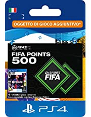 FIFA 21 Ultimate Team 500 FIFA Points | Codice download per PS4 (incl. upgrade gratuito a PS5)- Account italiano