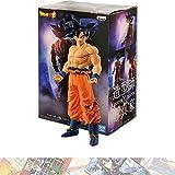 Son Goku [Ultra Instinct -Sign-]: 19cm BanPresto Creator x Creator Statue Figurine Bundle with 1 D.B. Theme Compatible Trading Card (16303)