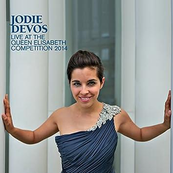 Jodie Devos - Live at the Queen Elisabeth Competition 2014