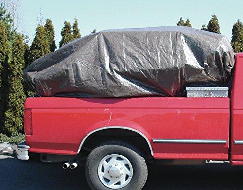 Bulk Pack of 2 MKP Foremost Dry Top 90057 5 x 7 Brown//Green Reversible Full Size 5-Mil Poly Tarp