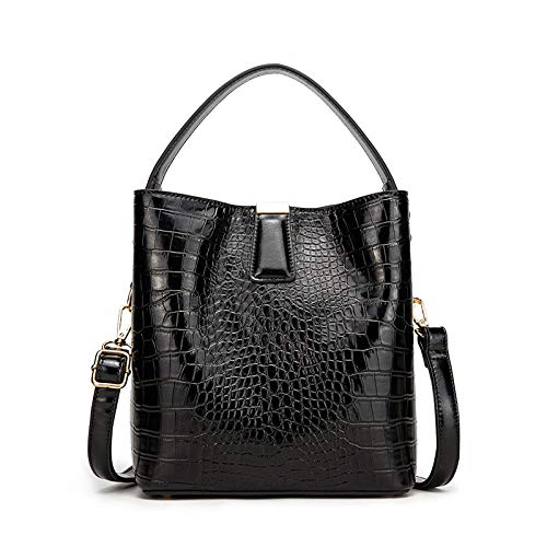 LYZJDP Backpacks, Bucket Shoulder Bags, Fashionable Handbags, Temperament Ladies Diagonal Bags