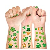 16 Unique Sheets for Less CostThe combination of 6 big and 10 small st patricks tattoos are quite perfect, lots of options for different looks, which make you can share shamrock tattoos,face st patricks day body tattoos with your friends and extended...