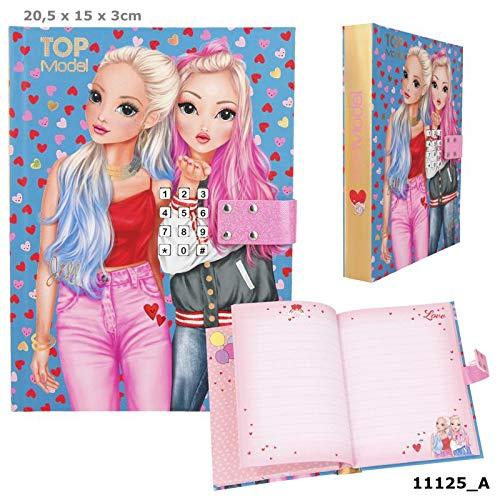 TOPModel Geheimcode Tagebuch mit Sound, Friends Heart blau NEU & OVP