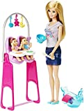 Barbie - Muñeca Baby Sitter (Clementoni CKJ22)