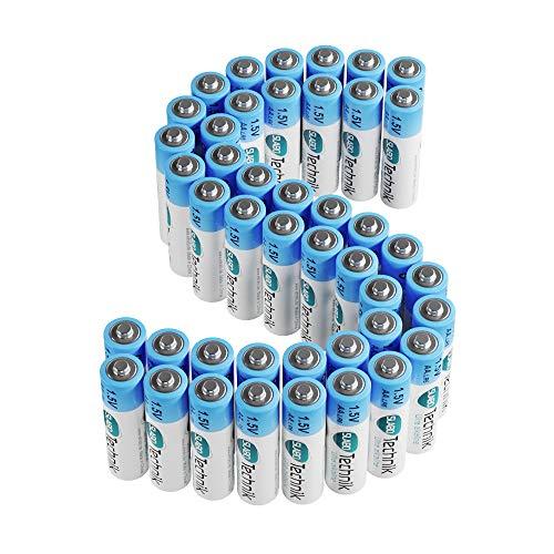 Slabo LR03 AAA Piles Micro Alcalines jetables - 1.5V - 10 Ans durabilité - Piles AAA pour télécommandes   Jeux   contrôleurs de Jeu, etc. Lot de 40