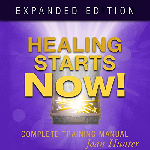 Healing Starts Now! audiobook cover art