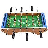 Vbest life Mini Sistema de Juego de futbolín de Mesa, Juego Divertido de Tablero de Juguete para niños con balón de fútbol de Mesa
