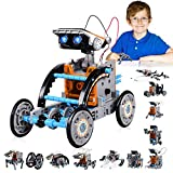 Stem Toys, 12 in 1 Solar Robot Kit for Kids with Solar Power, Science Experiments for Kids 9-12, Gifts for 8, 9, 10, 11, 12, 13 Year Old Boys, Girls, Kids, Adults
