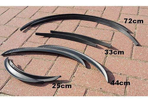 Car-Tuning24 53793943 Tuning LEON 2Stk. Radlauf Verbreiterung Kotflügelverbreiterung 71cm