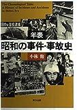 年表 昭和の事件・事故史