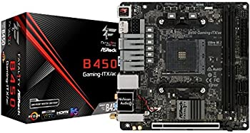 ASRock Fatal1ty B450 Gaming Mini ITX AMD Motherboard