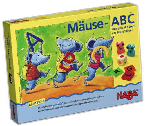 HABA 4562 Spiel MÄUSE-ABC