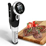 Supreme Sous Vide Thermal Immersion Circulator, Precision Cooker Pro Gourmet Stainless Steel Slow