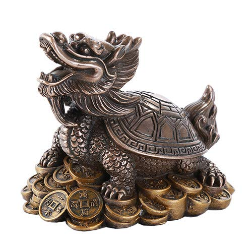 Pacific Giftware Feng Shui Money Dragon Tortoise On...