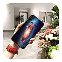 Hully 銀河のファンタジースペースFor iPhone11 12 pro XS MAX 8 7 6 6S Plus X 5S SE 2020XR用電話ケース-a8-7plus or 8plus