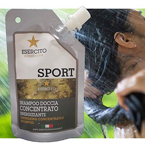 Esercito Benessere Shampoo Bio Concentrato Shampoo Naturale e Vegan, Shampoo Delicato Lavaggi...