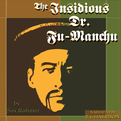 The Insidious Dr. Fu-Manchu audiobook cover art