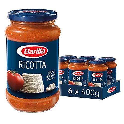 Barilla Pastasauce Ricotta – 6er Pack (6 x 400g)