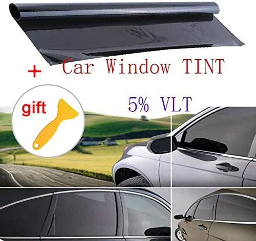Ulofpc Verdickung Isolierung Autoglasfolie Schwarz Sonnenschutz Fensterglasfolie Autoglas Explosionsgeschützte Folie Autoteile Auto