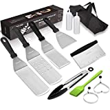 Griddle Accessories Kit, Restaurant Grade Stainless Steel Griddle...