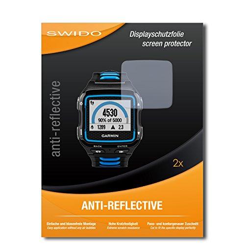 SWIDO Pellicola Protettiva per Garmin Forerunner 920XT [Anti-Reflex], Antiriflesso, Matt, No Reflexion, Ultra Resistente, Effetto Anti-Impronte - Proteggi Schermo