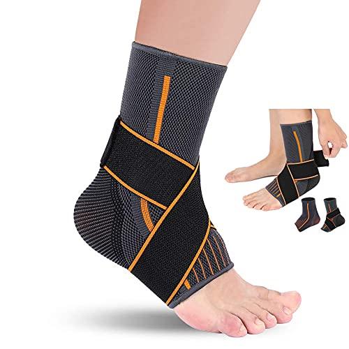 Tutore Elastica Caviglia per Distorsione,...
