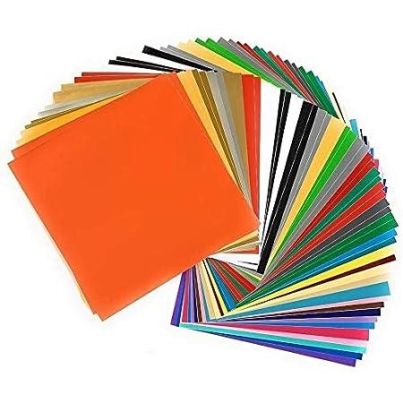 12 x 12 Inches Vinyl Candy Jumbo Bago Glossy Adhesive Vinyl Frenzy 40 Sheets