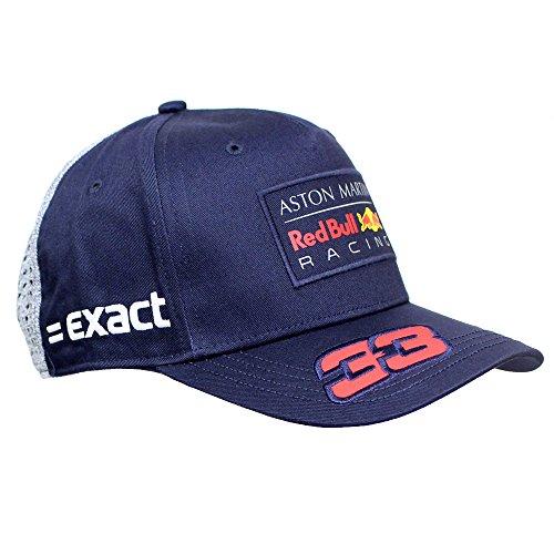 Gorra De Béisbol De Max Verstappen Aston Martin Red Bull Racing F1TM 2018