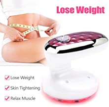 NOLLY 3 In 1 Body Shaping Massager Red Light Weight Loss Machine Fat Remove Vibration Beauty Device For Stomach Arm Leg Skin Tightening Machine Estimated Price : £ 63,99