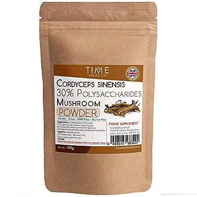 Cordyceps sinensis Mushroom Extract 100g Powder – 30% Polysaccharides (100g Powder)