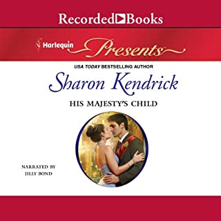 His Majesty's Child audiobook cover art