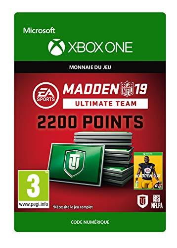Madden NFL 19: MUT 2200 Madden Points Pack | Xbox One - Code jeu à télécharger