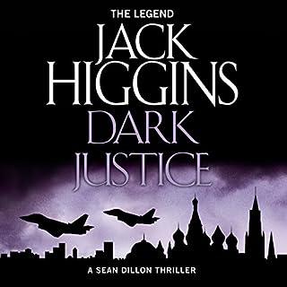 Dark Justice audiobook cover art