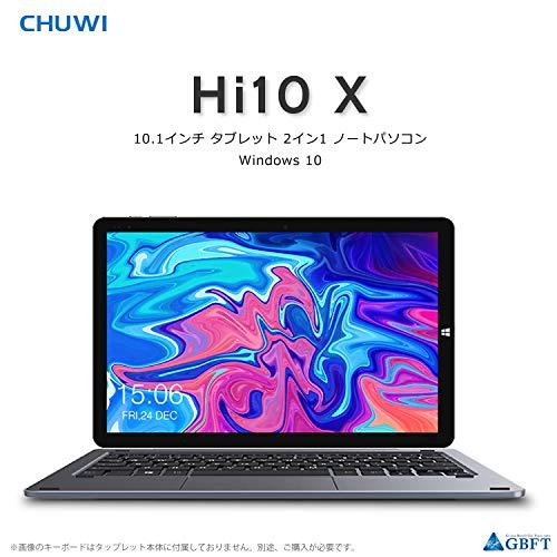 Chuwi Hi10 X Tablet PC 10,1' Sistema Operativo Windows 10 (Intel Gemini-Lake N4100) Quad-Core fino a 2,4 GHz , 1200 x 1920 IPS , 6 GB RAM + 128 GB ROM , Wi-Fi Dual Band , Bluetooth