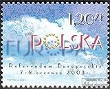 Prophila Collection Polonia Michel.-No..: 4051 (Completa.edición.) 2003 el cameno Polonia en los De la Unión €uropea (Sellos para los coleccionistas)