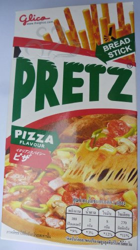 'Pretz Bread Stick Pizza Flavour' Pack of 12