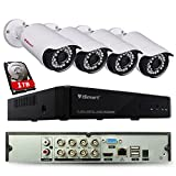 iSmart 8 Channel Lite 1080N 5-in-1 Hybrid DVR Security System