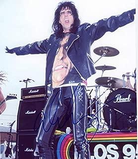 ALICE COOPER - Rock Legend AUTOGRAPH Signed 8x10 Photo