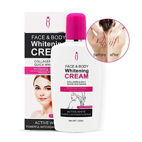 Body Cream, Duvina Moisturizing Cream Body Cream Face Cream Whitening Cream For Dark Skin Bleaching Brightening Body Lotion Whitening Cream Oksel Whitener Cream (120ml)
