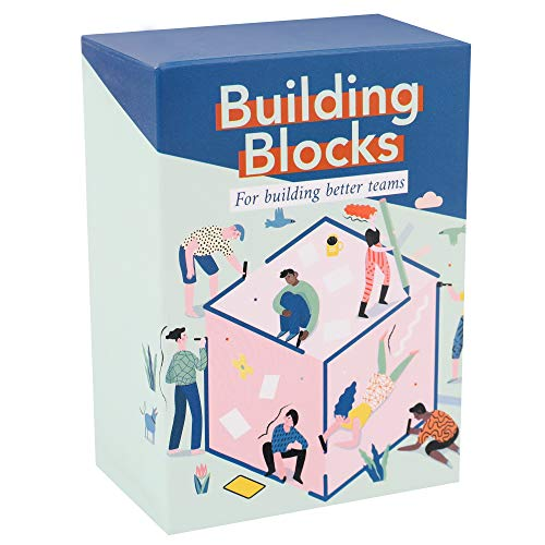 Building Blocks : Team Building Card Game for Work - Conversation Starters & Ice Breakers to Get to Know Your Coworkers - Office Activities & Training Tool