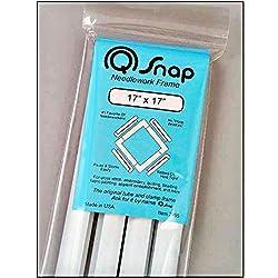 professional Q-quilting snap frame, cross-stitch 17 x 17